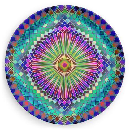 Party Plates Sun Mandala
