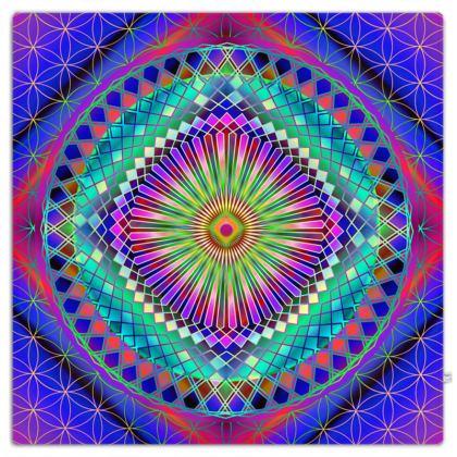 Picnic Blanket Sun Mandala