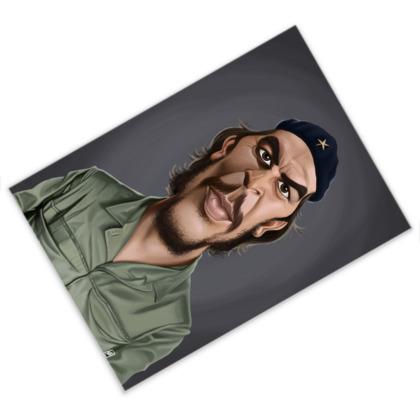 Che Guevara Celebrity Caricature Postcard