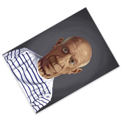 Pablo Picasso Celebrity Caricature Postcard