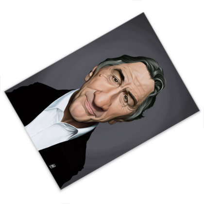 Robert De Niro Celebrity Caricature Postcard