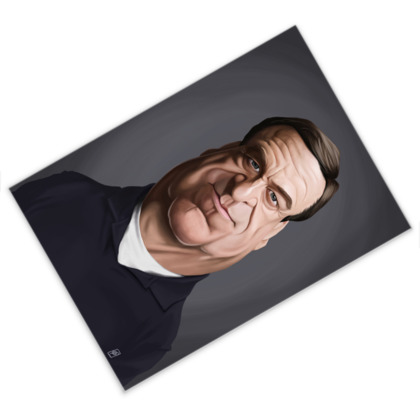 John Goodman Celebrity Caricature Postcard