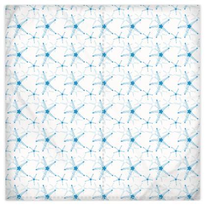 Sea Stars In Aqua Blue Duvet Covers