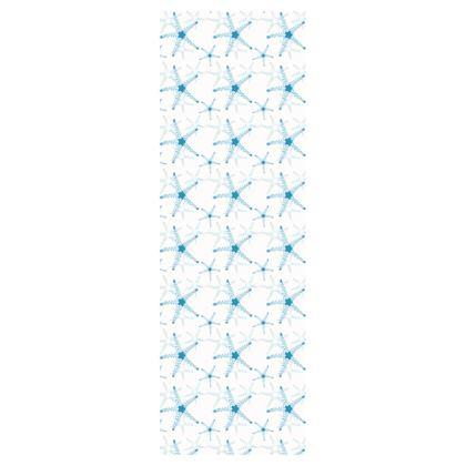 Sea Stars In Aqua Blue Deckchair