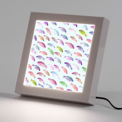 Tropical Fish Collection LED Frame