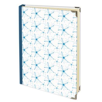 Sea Stars In Aqua Blue Address Book