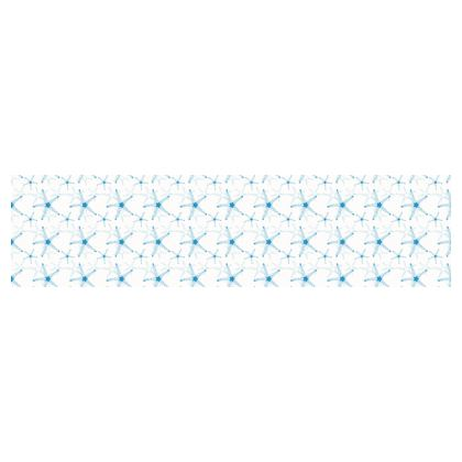 Sea Stars In Aqua Blue Cup And Saucer