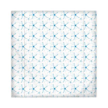 Sea Stars In Aqua Blue Duvet Covers JAPAN