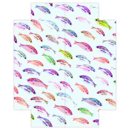 Tropical Fish Collection Fitted Sheets USA