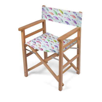 Tropical Fish Collection Directors Chair