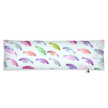 Tropical Fish Collection Bolster Cushion