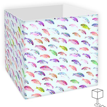 Tropical Fish Collection Square Lamp Shade