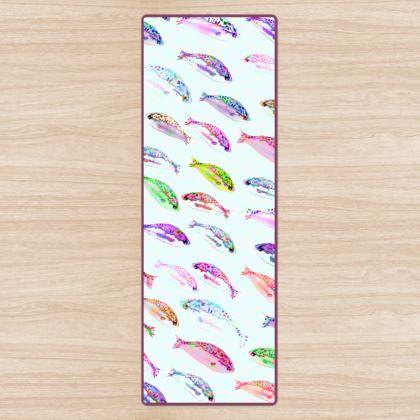 Tropical Fish Collection Yoga Mat