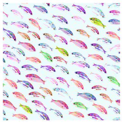 Tropical Fish Collection Occasional Chair