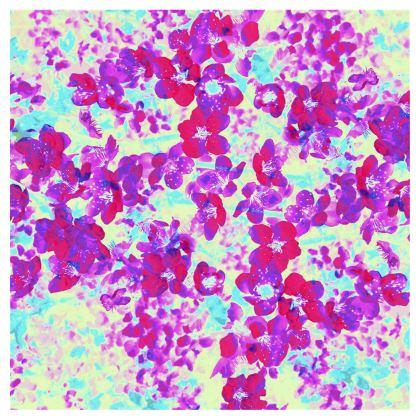 Short Skirt Spring Flowers