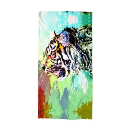 Sumatran Tiger Neck Tube Scarf