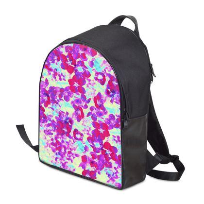 Backpack Spring Flowers