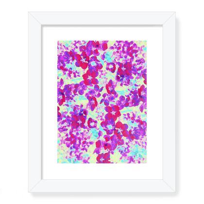 Framed Art Prints Spring Flowers