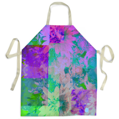 Lilac & Lime Aprons