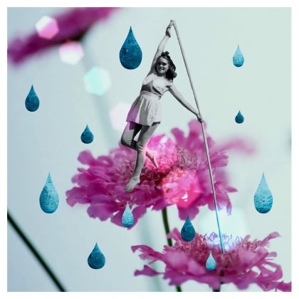 Walk in the Garden Travel Luggage Tags