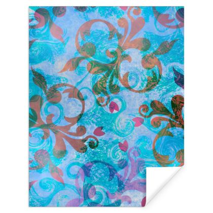 Royal Blue Wrapping Paper