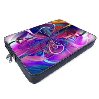 Laptop Bags Purple Flower