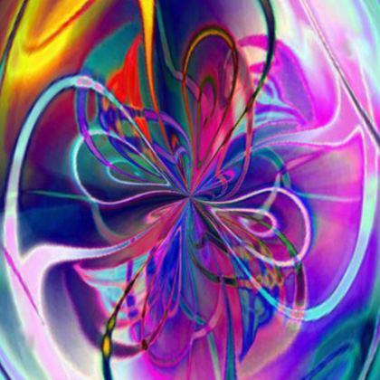 Flip Flops Purple Flower