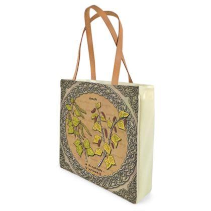 Tree Calendar Birch Shopper Bag