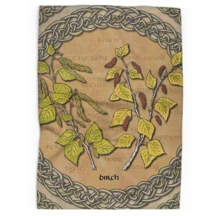 Celtic Birch Tea Towel