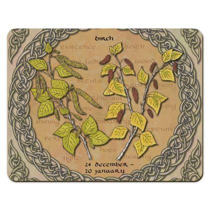 Tree Calendar Birch Placemats