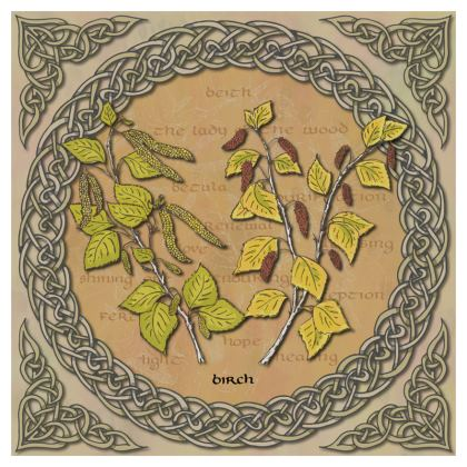 Celtic Birch Coasters