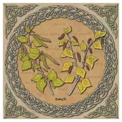 Celtic Birch Cushion