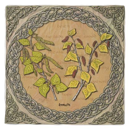 Celtic Birch Throw
