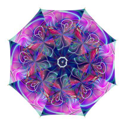 Umbrella Purple Flower