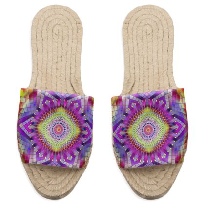 Sandal Espadrilles Snowflake