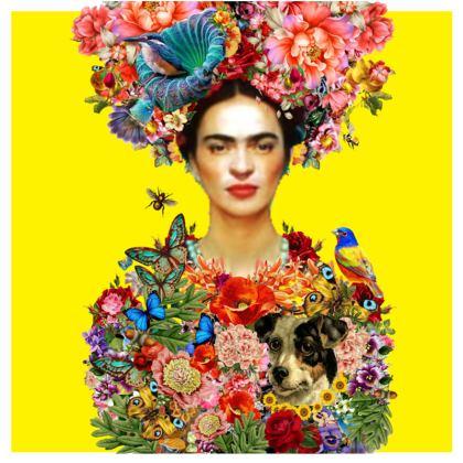 Frida Kahlo Enchanted Garden