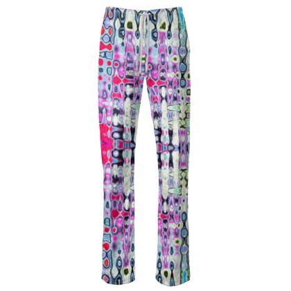 Womens Trousers Love Splashes