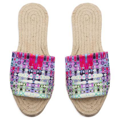 Sandal Espadrilles Love Splashes