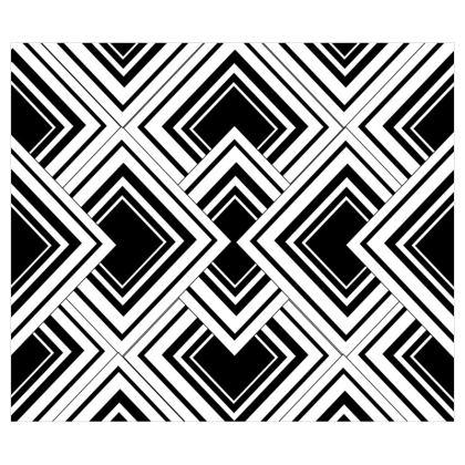 Roller Blind Black And White