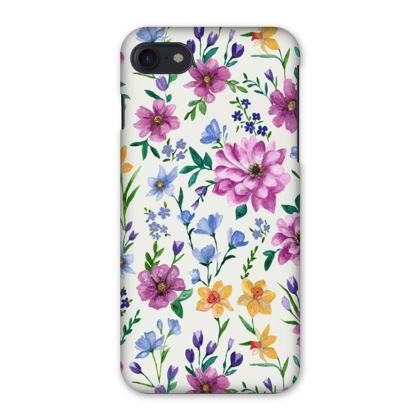 Floral IPhone Case, Beautiful Blooms Design