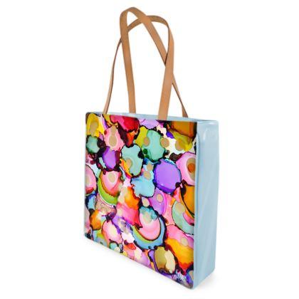 Thrill Shopping/Swimming Bag (Blue)