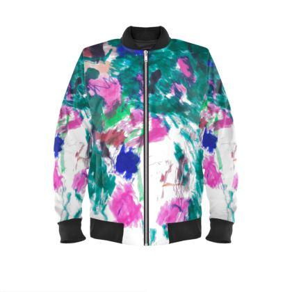 Multicolour Mens Bomber Jacket
