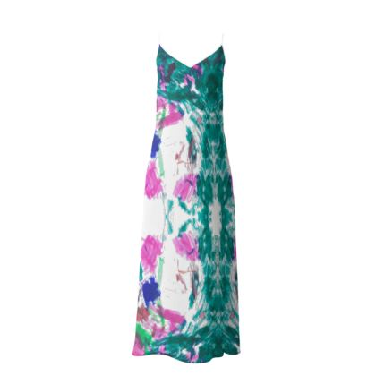 Multicolour Slip Dress