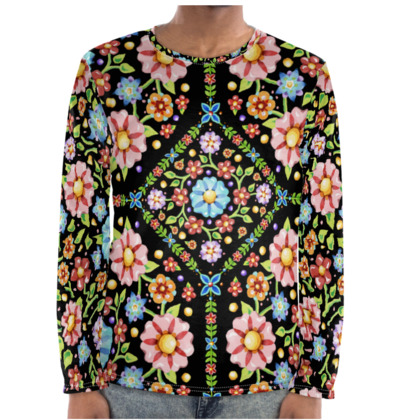Millefiori Floral Long Sleeve Shirt