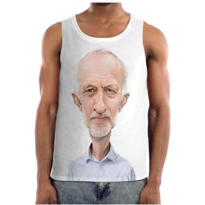 Jeremy Corbyn Celebrity Caricature Cut and Sew Vest