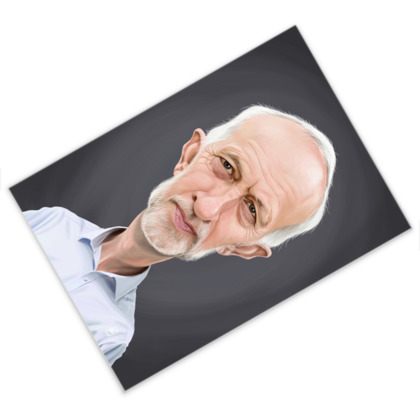 Jeremy Corbyn Celebrity Caricature Postcard