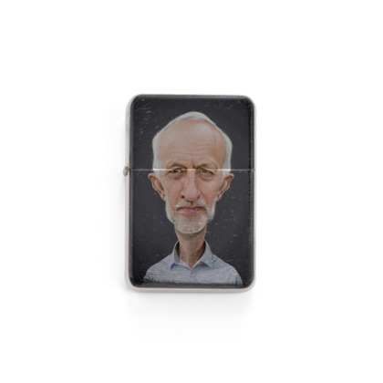 Jeremy Corbyn Celebrity Caricature Lighter