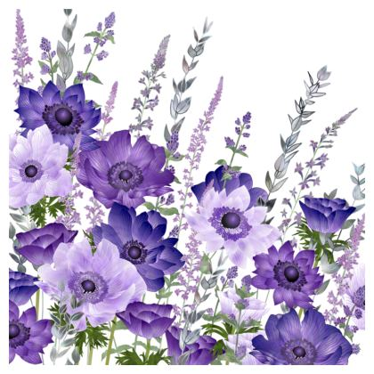 The Morning Anemone Patch Coasters