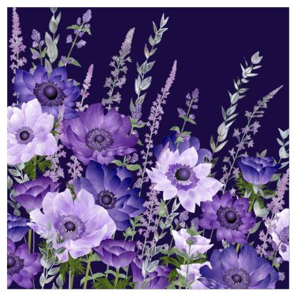 The Evening Anemone Patch Coasters