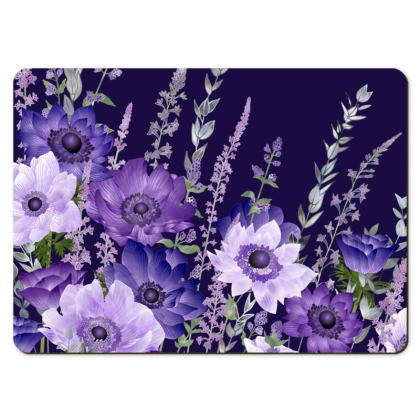 Large Placemats - The Evening Anemone Patch